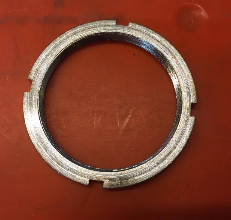 Låsemøtrik for bagnav (77mm)