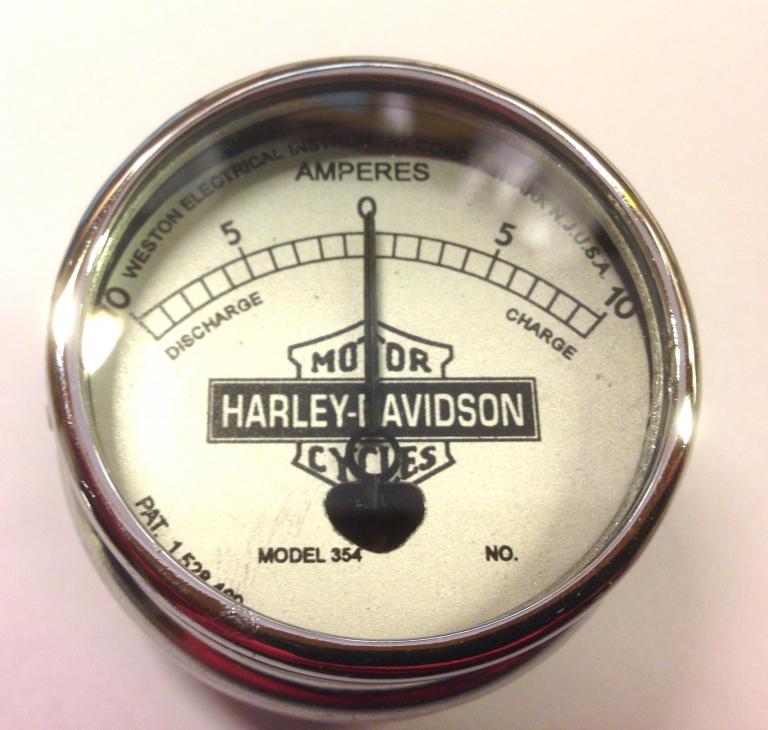 #R4580-29 Harley-Davidson amperemeter