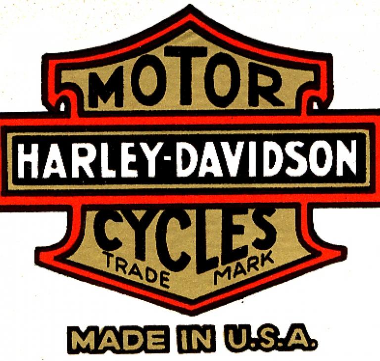 Harley-Davidson transfers værktøjskasse...